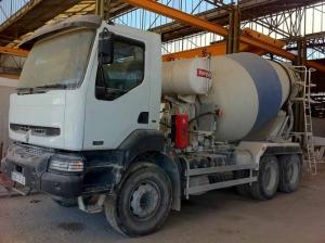 Lote Camión Hormigonera, Tractora y Plataforma